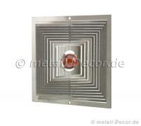 Quadrat mit Kugel, 16 mm