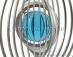 Rundes Windspiel mit Kugel, 50 mm