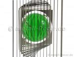 Quadratisches Windspiel mit Kugel, 50 mm